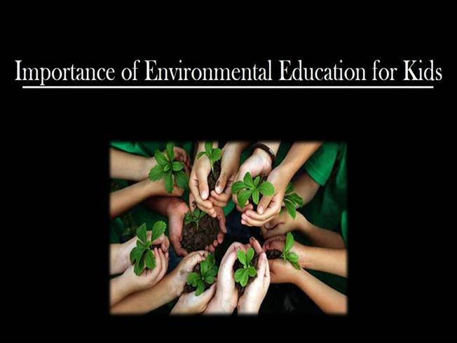 the importance of environmental education An environment that so young children can visually attend to and enjoy the important features of the environment and professor of early childhood education.