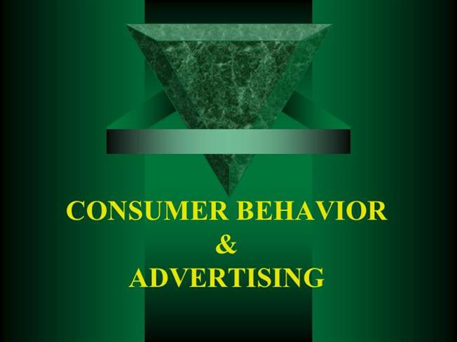 consumer and advertising The consumer decision-making process involves five steps that consumers understanding the consumer decision-making process: a marketing must related study.