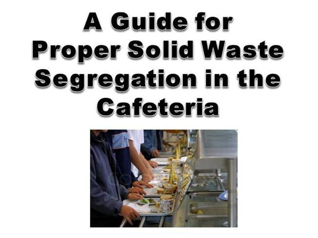 the implementation of proper waste segregation Proper waste segregation updated their website address learn more see all photos see all posts proper waste segregation shared their photo march 7, 2017 .