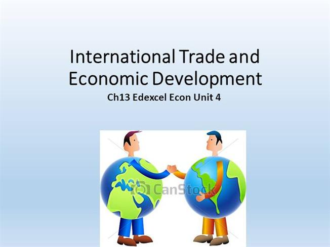 international trade and economic development Content and media associated with international trade with us industry in the development and execution of economic development.