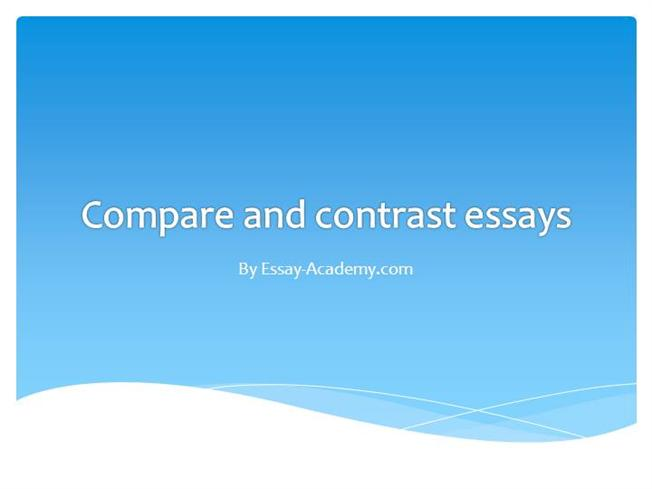 for compare contrast essay title for compare contrast essay