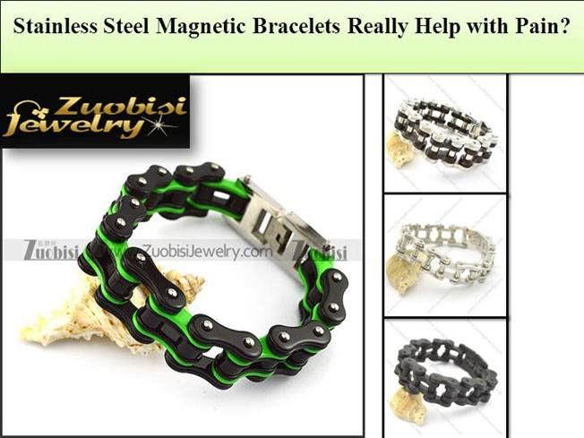 Stainless steel magnetic bracelets really help with pain for How does magnetic jewelry work