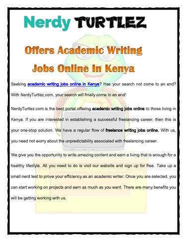 Academic writing online