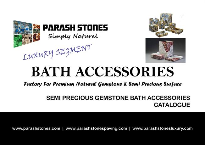 Semi Precious Stone Bath Accessories Bathroom Vanity Catalog Authorstream