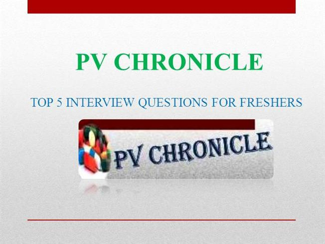 interview questions for freshers pdf