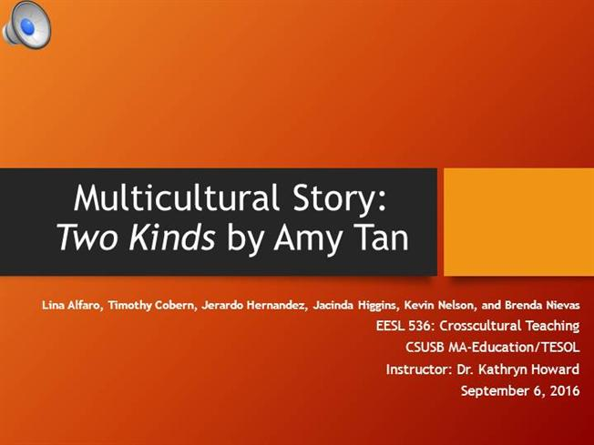 sea cucumber essay Reading report: Two Kinds by Amy Tan