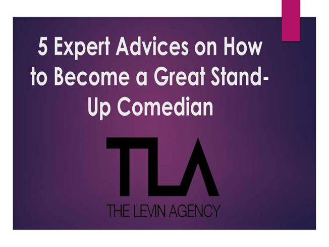 how to be a stand up comedian ppt