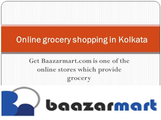 ppt online grocery shopping in india India online grocery market is in its nascent stage and primarily confined to tier 1 cities rising internet penetration, acceptance of smartphones, changing consumer buying trends, gaining consumer confidence towards online shopping and better service quality are tremendously boosting the.
