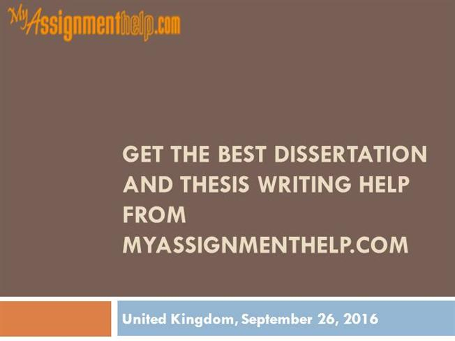 Who qualifies dissertation writing help?