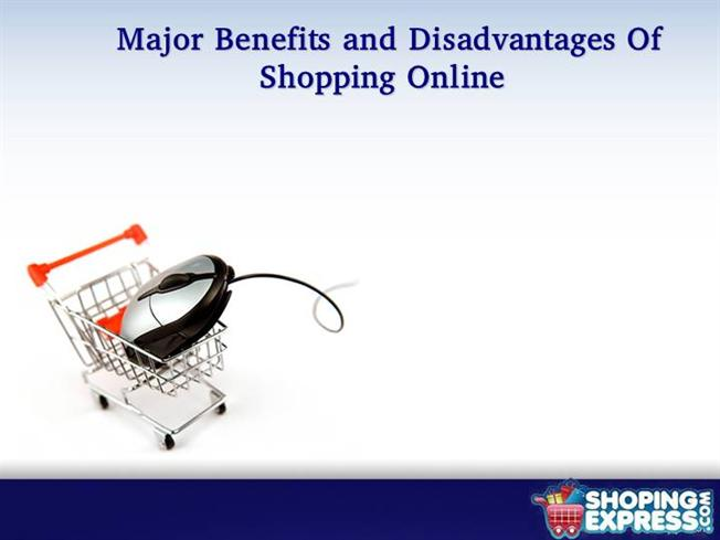 disadvantages of online shopping We've written a step-by-step tutorial on how to shop at tesco e-shopwe've bought some groceries via our tablet and internet, without stepping out of the house.