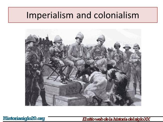 differences between 16th and 19th century imperialism Like colonialism, imperialism also involves political and economic control over a dependent territory the etymology of the two terms, however, provides some clues.