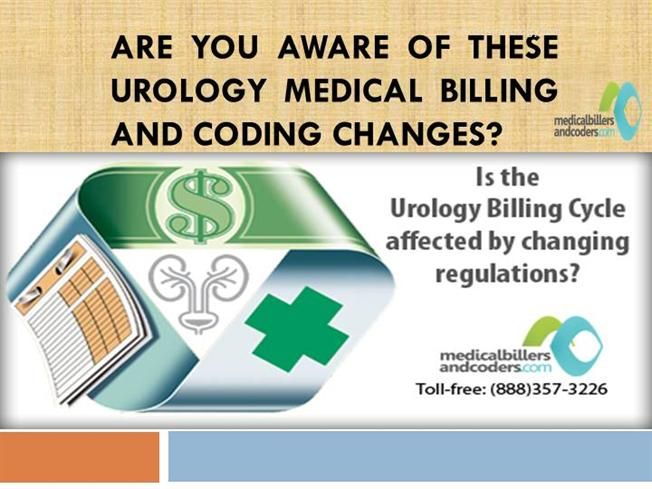 are you aware of these urology medical billing and coding