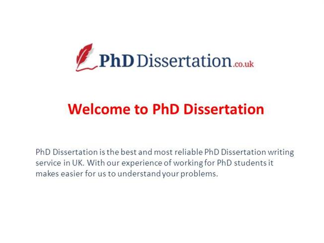 Phd And Dissertation
