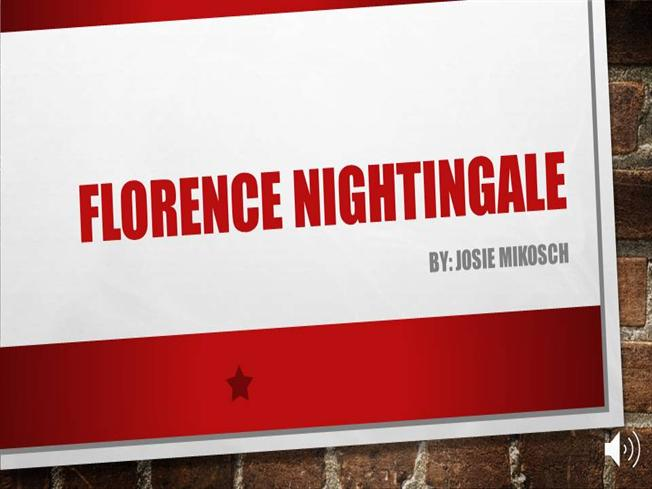 Florence nightingale authorstream for Florence nightingale lamp template