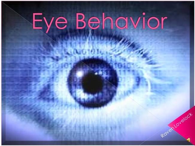 eye behavior Reduced eye contact is one of the hallmark symptoms of autism and often one of  the earliest red flags for parents and physicians the reason.