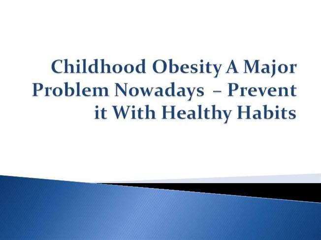 childhood obesity a big problem Obesity: a big problem for fast growing qatar has a big problem with obesity underestimate the weight of their child, or even view obesity as a sign.