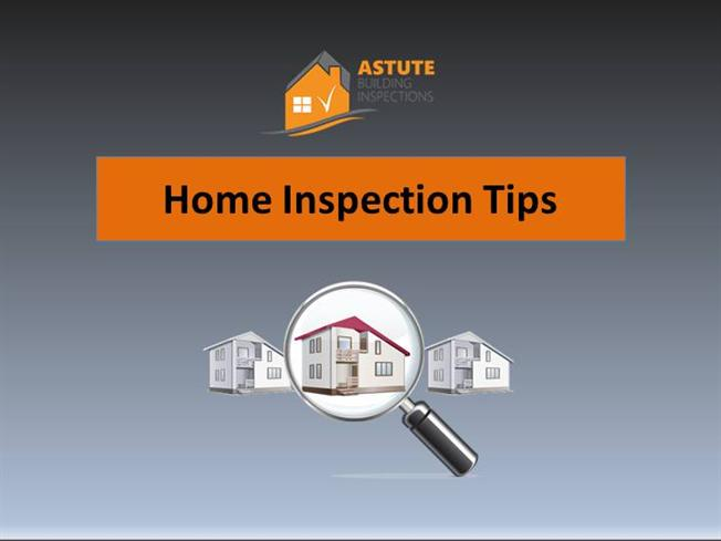 Home inspection tips authorstream for Home inspection tips