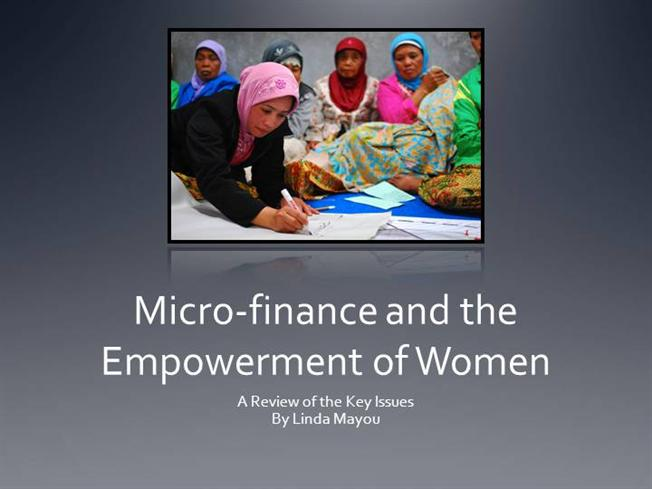 thesis of microfinance Iii post-conflict reconciliation, women's studies, and microeconomics in order to understand the future role of microfinance and women a central theme of this thesis is that women should be considered to be an.
