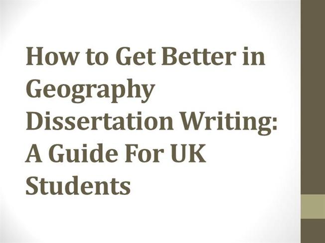 how to do your dissertation in geography Read and use the best dissertation writing tips learn how to deal with your geography dissertation titles.