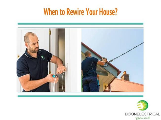 when to rewire your house authorstream