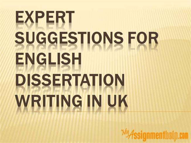dissertation writing suggestions