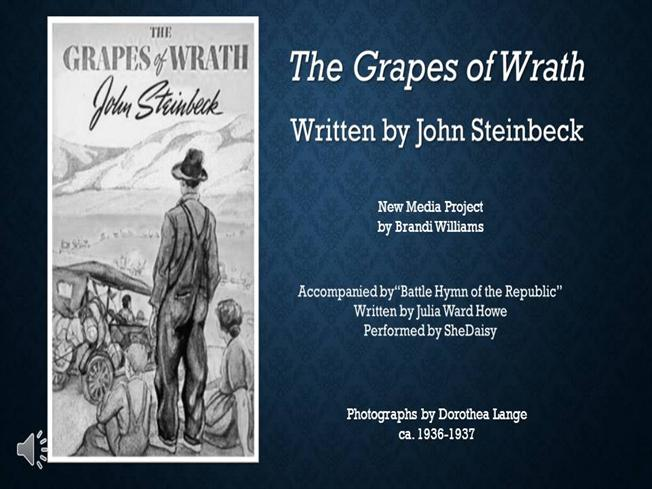 grapes of wrath chapter 30 The grapes of wrath study guide contains a biography of john steinbeck, literature essays, quiz questions, major themes, characters, and a full summary and analysis.