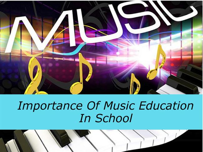 the importance of music education in The music education curriculum focuses on activities in which children conceptualize through experiencing the elements of music (eg, melody, rhythm, form, tone, and color), the styles of music, and uses of music in society.