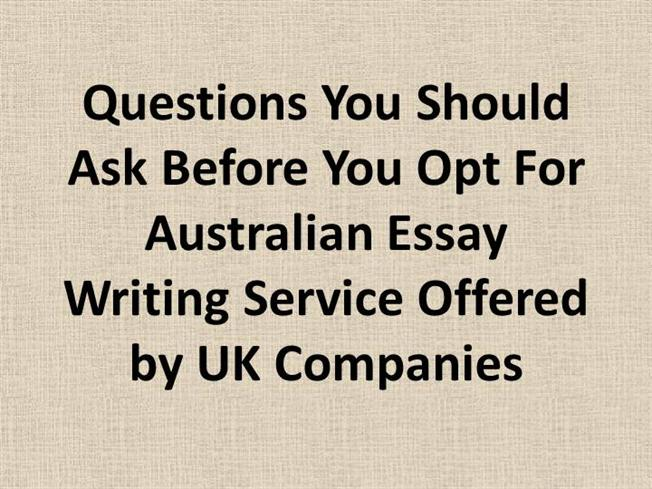 what questions to ask before writing an academic essay