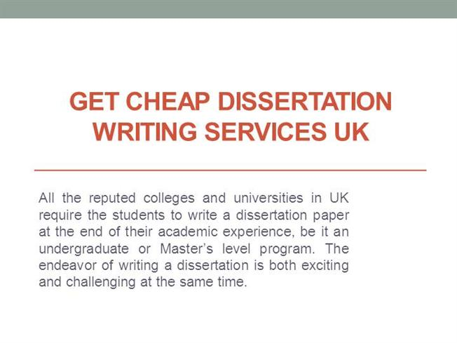 Use Our Reputable Dissertation Writing Service