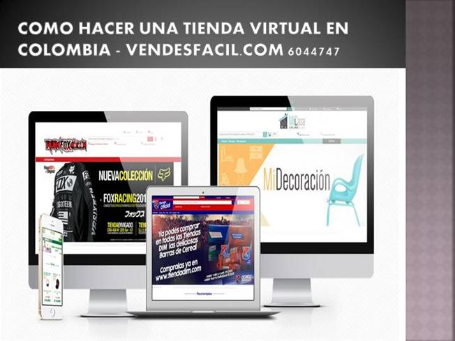 como montar una tienda virtual colombia authorstream