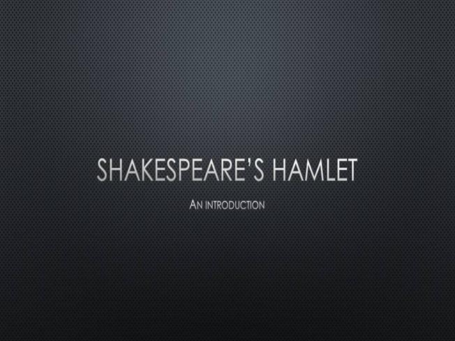 notes for hamlet presentation stanislavski Hamlet - the prince of denmark, the title character, and the protagonist about  thirty years old at the start of the play, hamlet is the son of queen gertrude and.