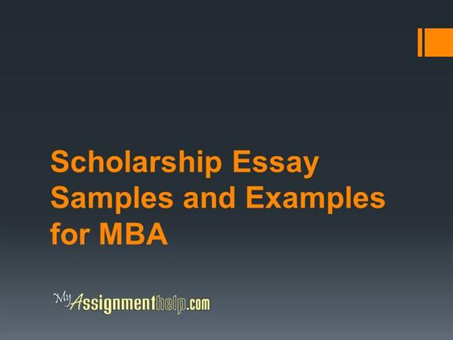 scholarship essay for mba If you are applying to both the mba and msx programs, use essay b to address your interest in both programs length your answers for both essay questions combined may not exceed 1,150 words (1,200 words if you are applying to both the mba and msx programs.