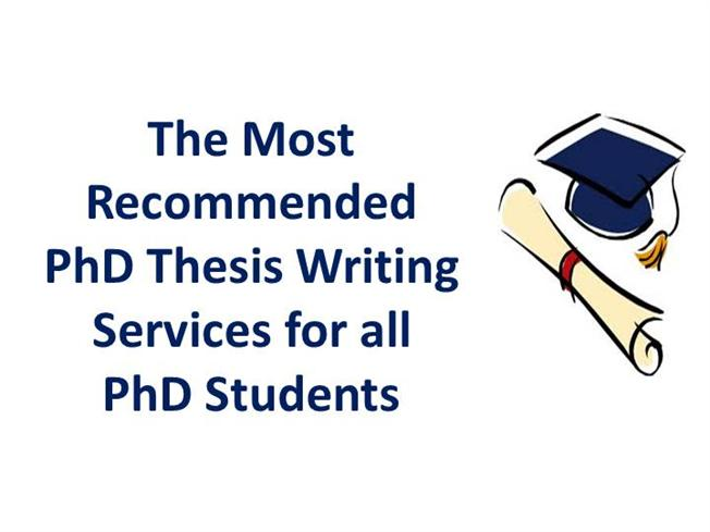 help in writing a phd. thesis