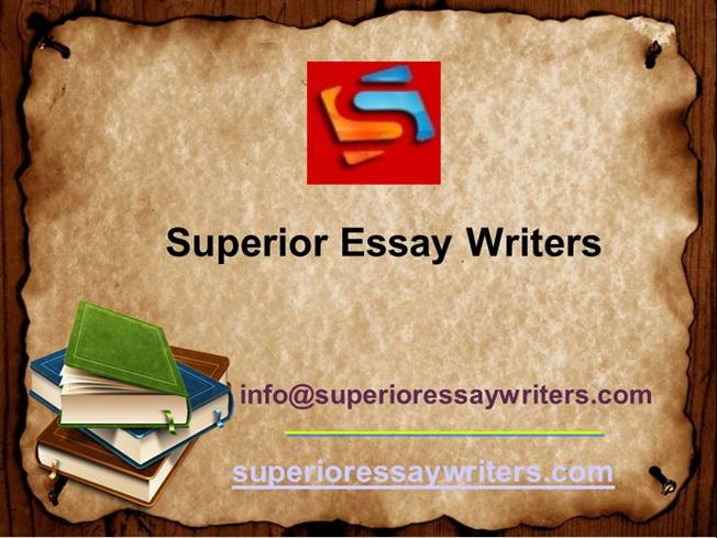 superior writing services Sep offers a great range of writing services we at superioressaypaperscom provide only high quality english writing services superior essay papers.