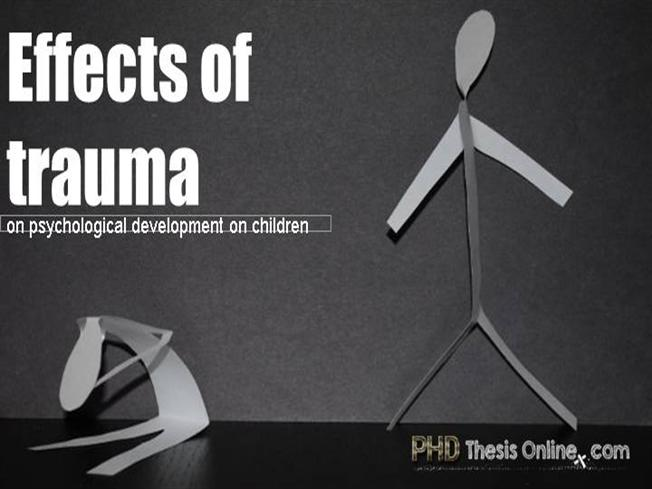 effect of trauma on a child in The brain develops and modifies itself in response to experience neurons and neuronal connections (synapses) change in an activity-dependent fashion this use-dependent development is the key to understanding the impact of neglect and trauma on children.