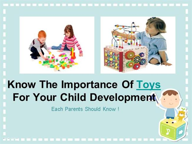 importance of toys for child creativity and development The best toys engage a child's senses, spark their imaginations and encourage them to interact with others  child development  neither child development .