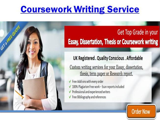 Fully Guaranteed Coursework Writing Services