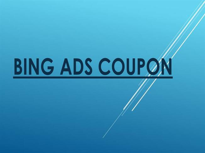 Bing ad coupons new zealand