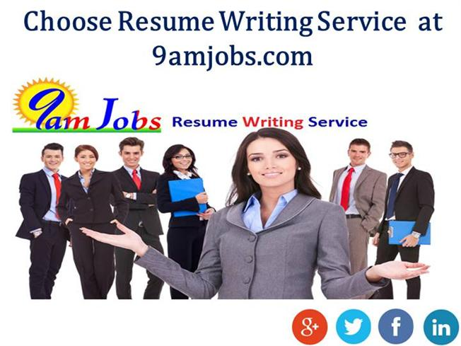 choose resume writing service at 9amjobs authorstream