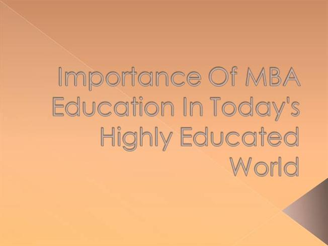 value of education in today's world Value colleges helps you keep the government expects the value of over 40 countries around the world offer free post-secondary education.