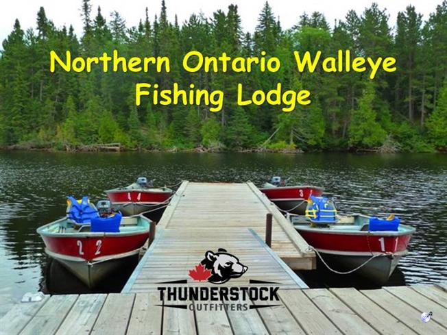 Northern ontario walleye fishing lodge authorstream for Ontario fishing lodges and resorts