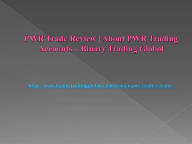 pwr trade