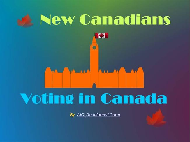 voting in canada Canada's government has three distinct levels, and elections are held at all three what are the eligibilty requirements for voting in canada voting in canadian elections.