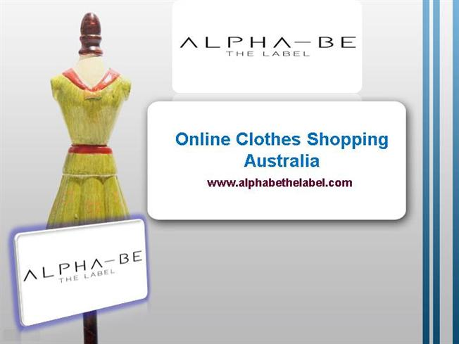 Online clothing shopping australia