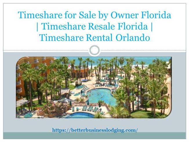 Attend timeshare presentation orlando