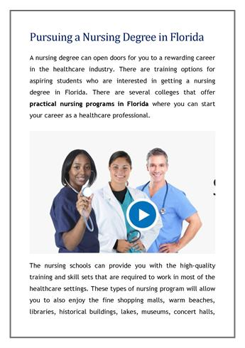 essay on pursuing a nursing career I chose nursing as a career because i love learning new things as a nurse, i am always challenging myself to keep current on medical trends and nursing is such a broad field that i knew i could find a niche that would allow me to utilize my interest in science and the natural world as well as my desire.
