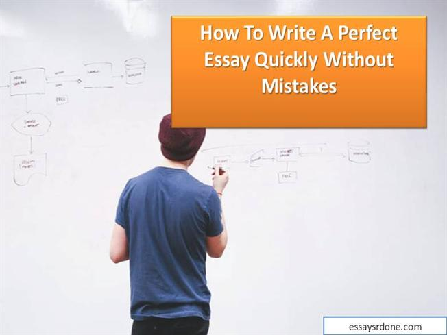 how to write perfect s