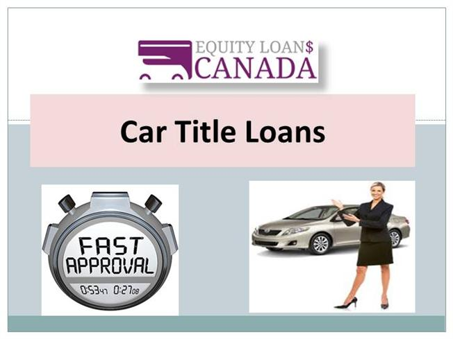 Get a Car Title Loans |authorSTREAM