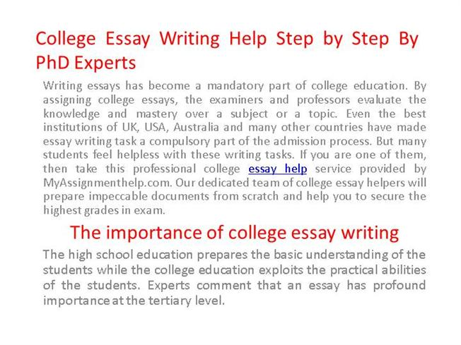 college essay help writing Essay writing service - we have a writer just for you whatever the deadline or the budget is, ask us for help.