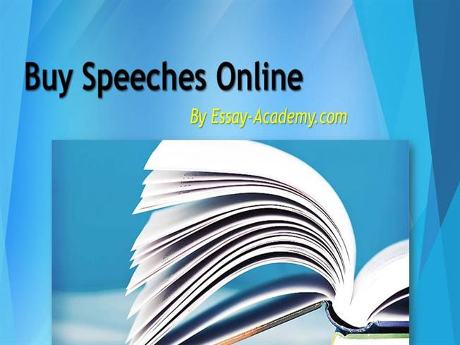 Buy Speech Writing Services from Freelance Academic